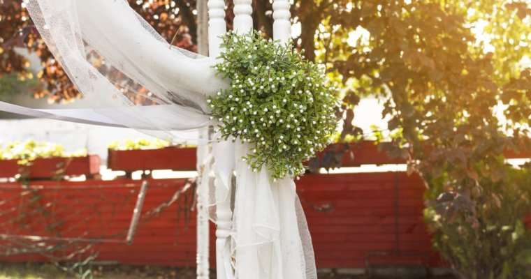 Tips de decoración para una boda al aire libre