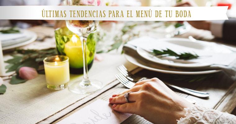 Banquetes en Medellín: Últimas tendencias para el menú de tu boda