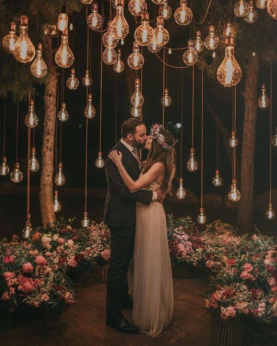 Las ventajas de realizar una boda al aire libre en la noche